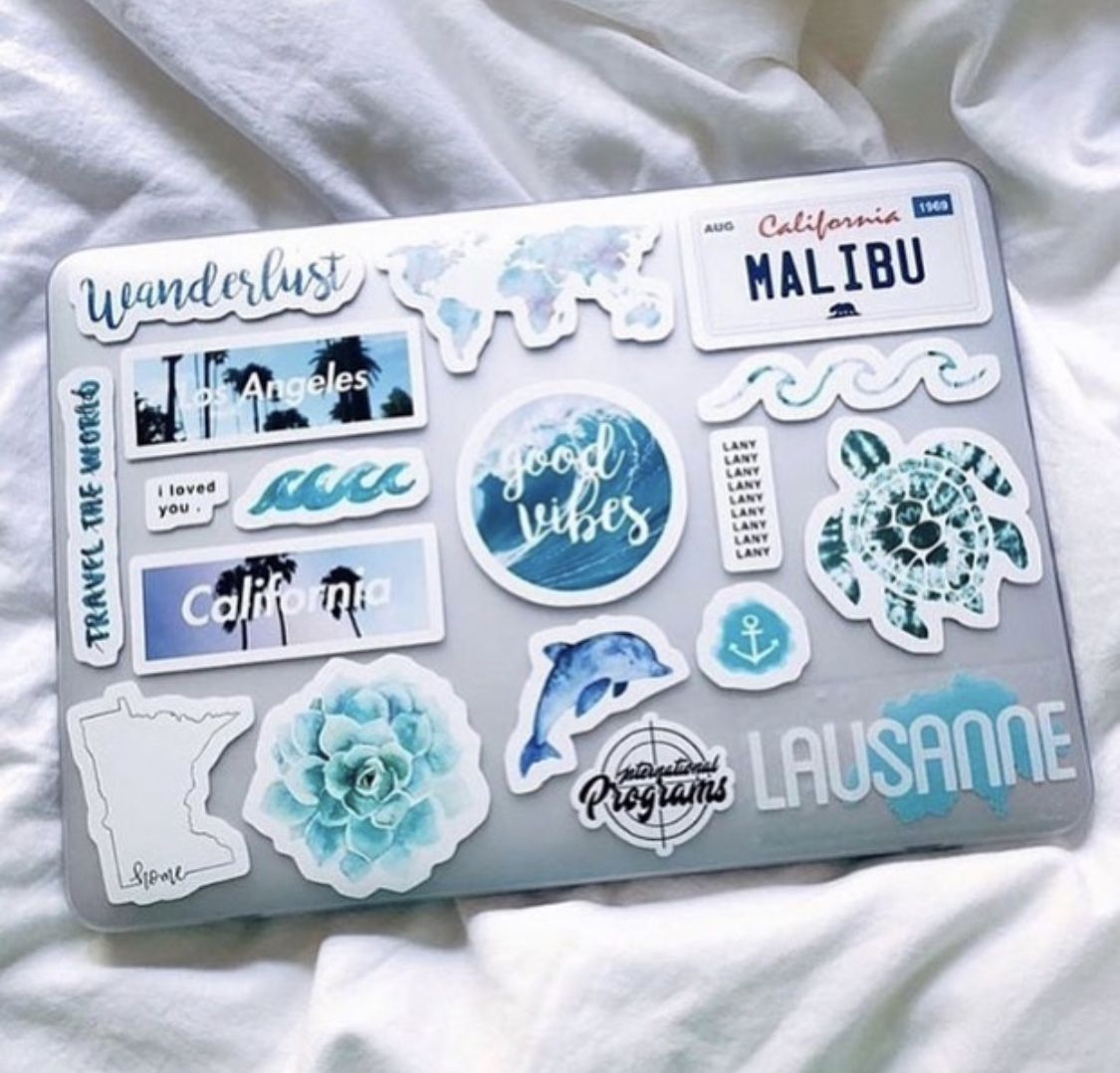 Vsco Baileyburrough Laptop Case Stickers Macbook Case