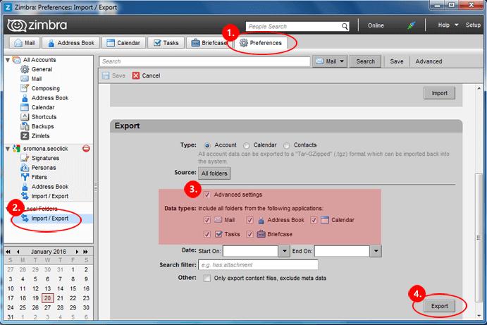 Zimbra TGZ Export Tool for Efficient Migration of Zimbra TGZ Files