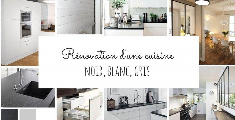 cuisine noir Accueil Décoration Rénovation d\u0027une cuisine en noir