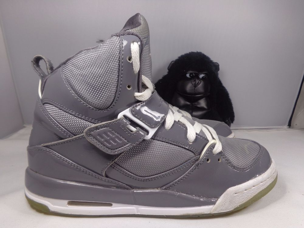 Kids Nike Air Jordan Flight 45 Graphite Basketball shoes size 6 Youth  Nike   Athletic bf6c4d7b1