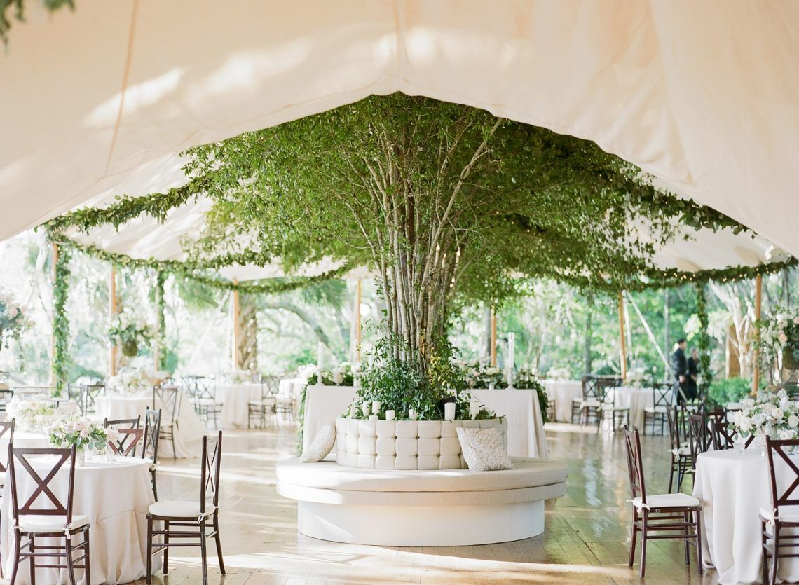 Charleston South Carolina Wedding Catherine Thomas Elisa Bricker Tent Decorations Green Decor Restaurant Design