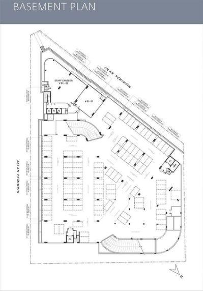 Parking Garage Ramp Floor Plan Arsitektur Lanskap Arsitektur
