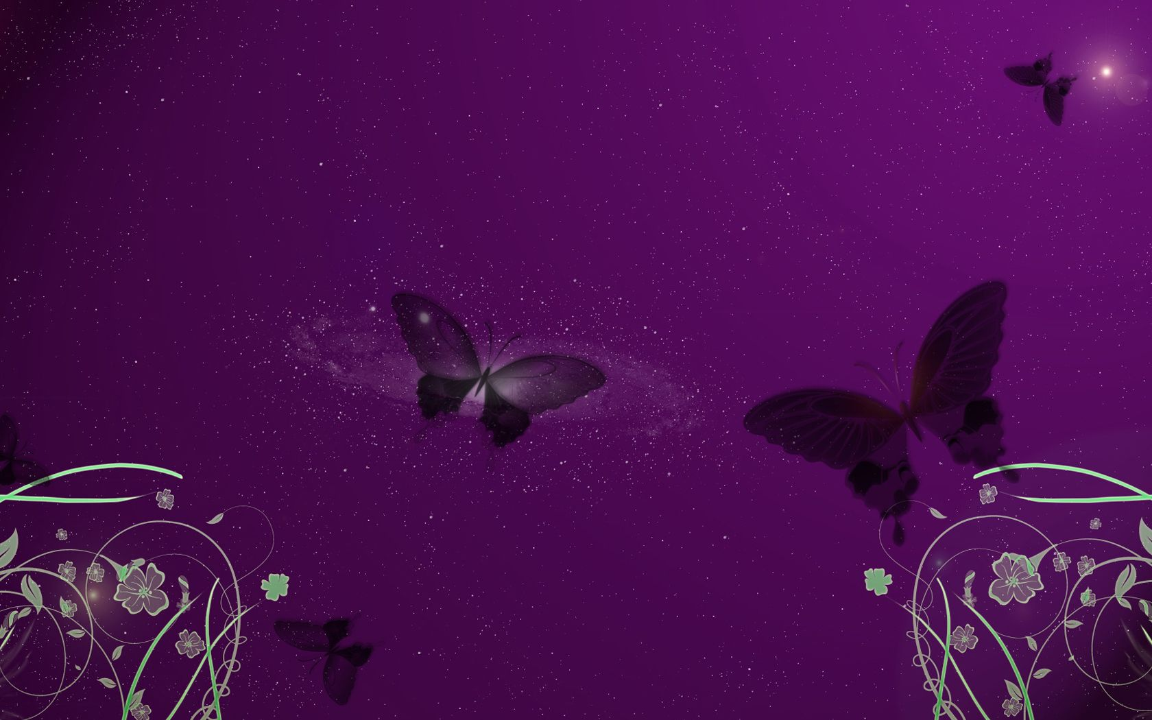 Purple Flower Backgrounds High Definition Wallpapers Widescreen
