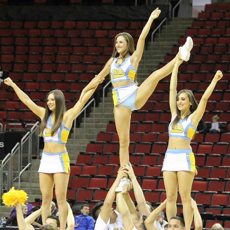 UCLA Cheerleaders Cheerleading pictures, Football
