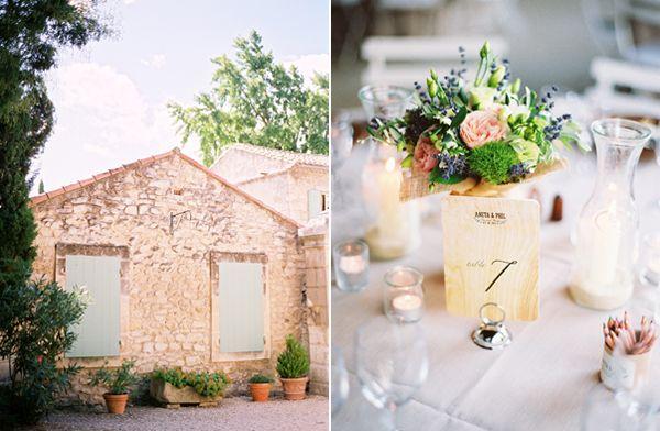 Elegant French Countryside Wedding: Elegant French Countryside Wedding - Once Wed