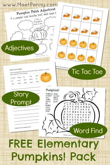 FREE Pumpkin Unit Study {with powerpoint presentation and free printables} - Frugal Homeschool Family