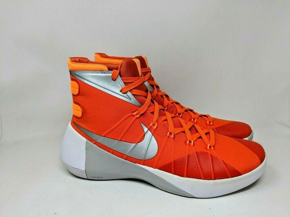 Nike Hyperdunk 2015 Tb Orange Blaze 749645 808 Size 13 Nike Basketballshoes Nike Hyperdunk 2015 Mens Shoes Casual Sneakers