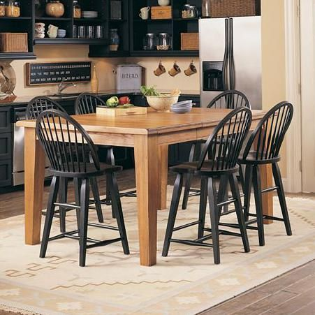 Attic Heirlooms Counter Height 7 Piece Dining Set By Broyhill Furniture Broyhill Furniture Counter Height Table Table