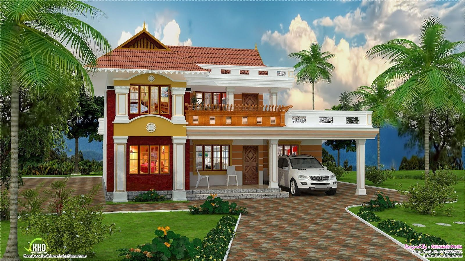 Image Result For Beautiful House Images Download Beautiful Beautyhousesindian Download Beautiful House Images Wallpaper House Design Simple House Design