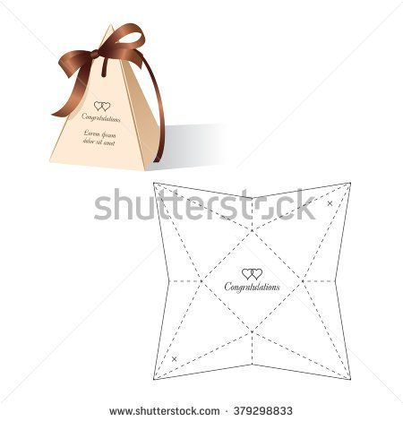 Retail box with blueprint template boxes bags pinterest craft malvernweather Choice Image