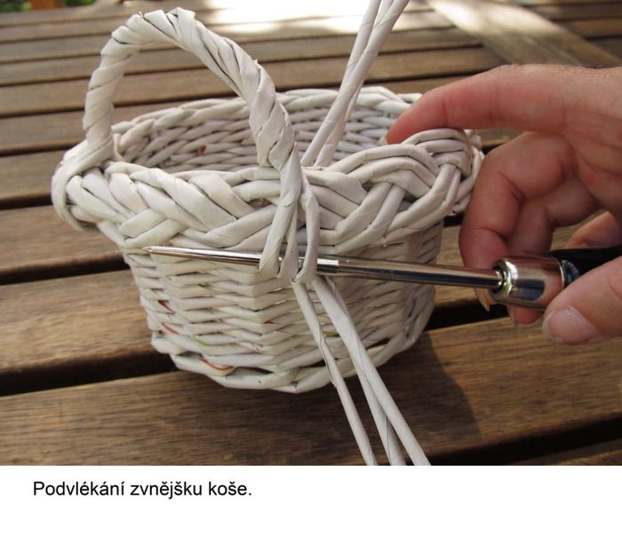 Basket Weaving Handles : Really great pics for handles woven baskets and other