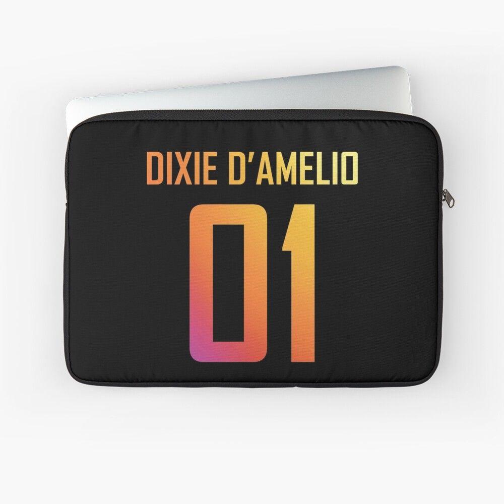 Dixiedamelio Behappy Dixie Damelio Charlidamelio Rainbow Hypehouse Tiktok Tiktoker Tiktokstar Birth Year Youtube Design Laptop Case