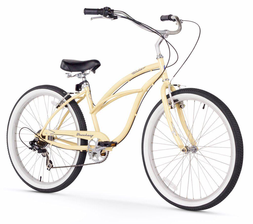 Firmstrong Urban Lady 7 Speed Women S 26 Beach Cruiser Bike Cruiser Bike Beach Cruiser Bike Beach Cruiser