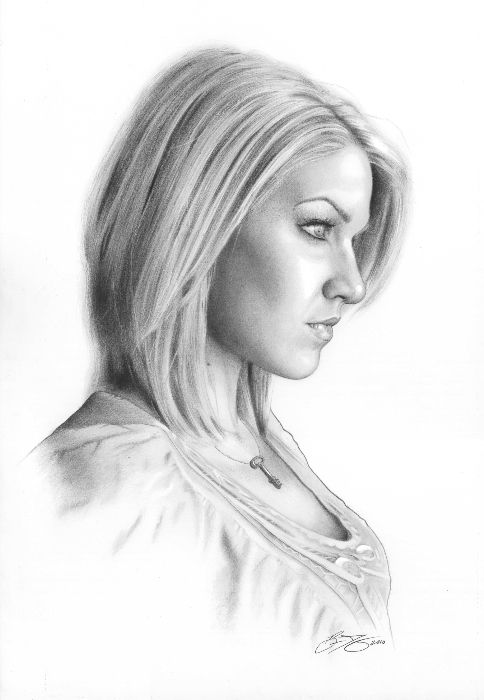 Drawings in pencil pencil drawing portrait