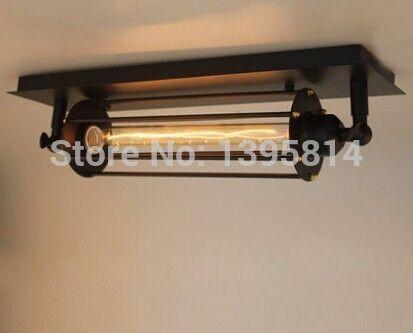 Aliexpress.com : קנו משלוח חינם דגימה אחת d100mm * h450mm ארוך בציר ברזל כלוב מוגמרים שחורים תעשייתי מנורת קיר אדיסון מספקי מנורת חוט אמינים בTime Bus Designer Home Lightings