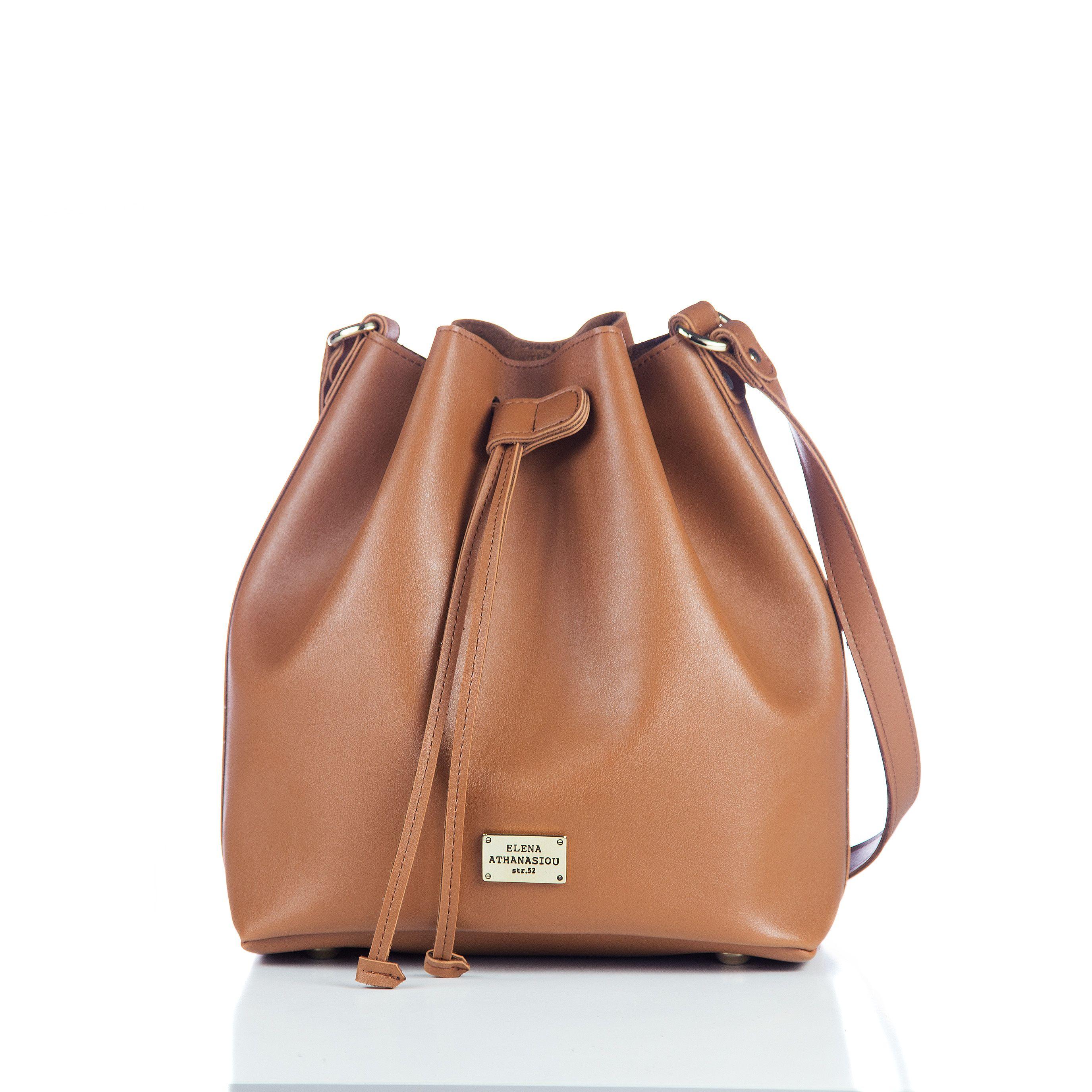 Pouch Bag Soft Cognac  225305fd48e