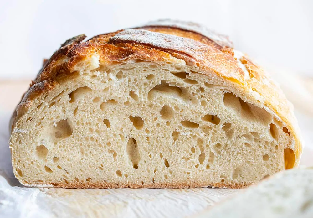 This Simple Sourdough Bread is just that...simple! It is ...