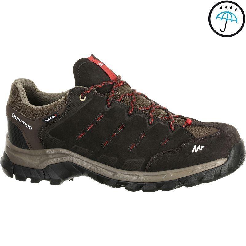 Chaussure Randonnée Homme Forclaz 500 Low Imperméable Marron V2 ... 429494858b