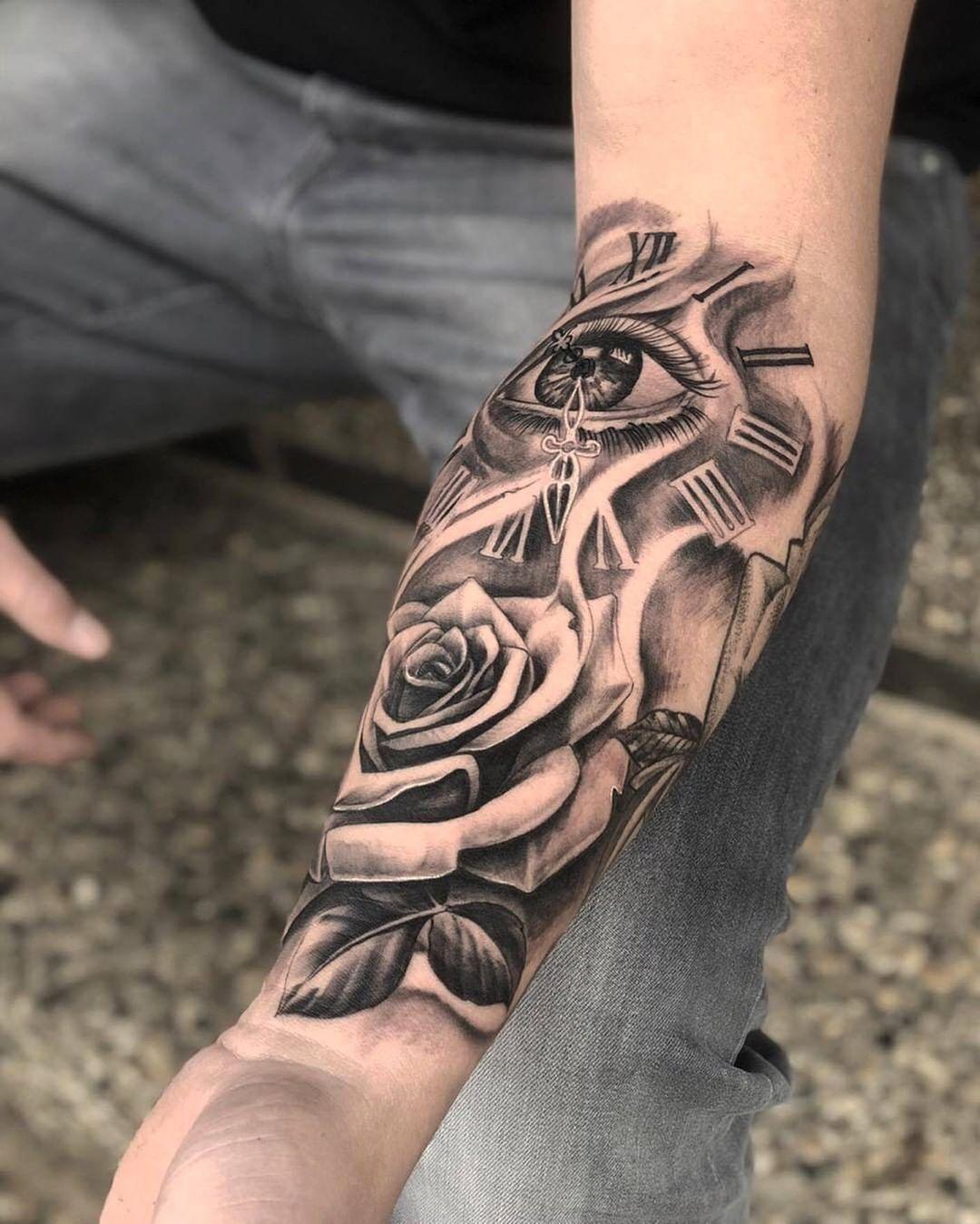 Mann hand tattoo 30 Handgelenk
