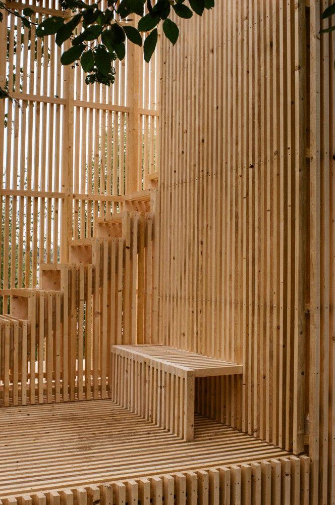 Gallery of gjennomsikte kollaboratoriet 24 treppe for Studium raumgestaltung