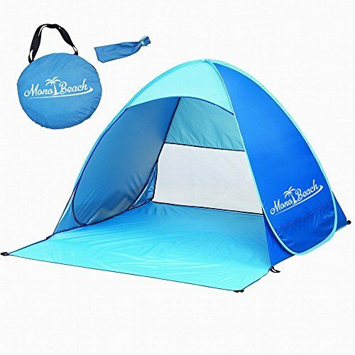 pretty nice 3566c 40fd3 Monobeach TM Portable Outdoors Quick Cabana Beach Tent ...