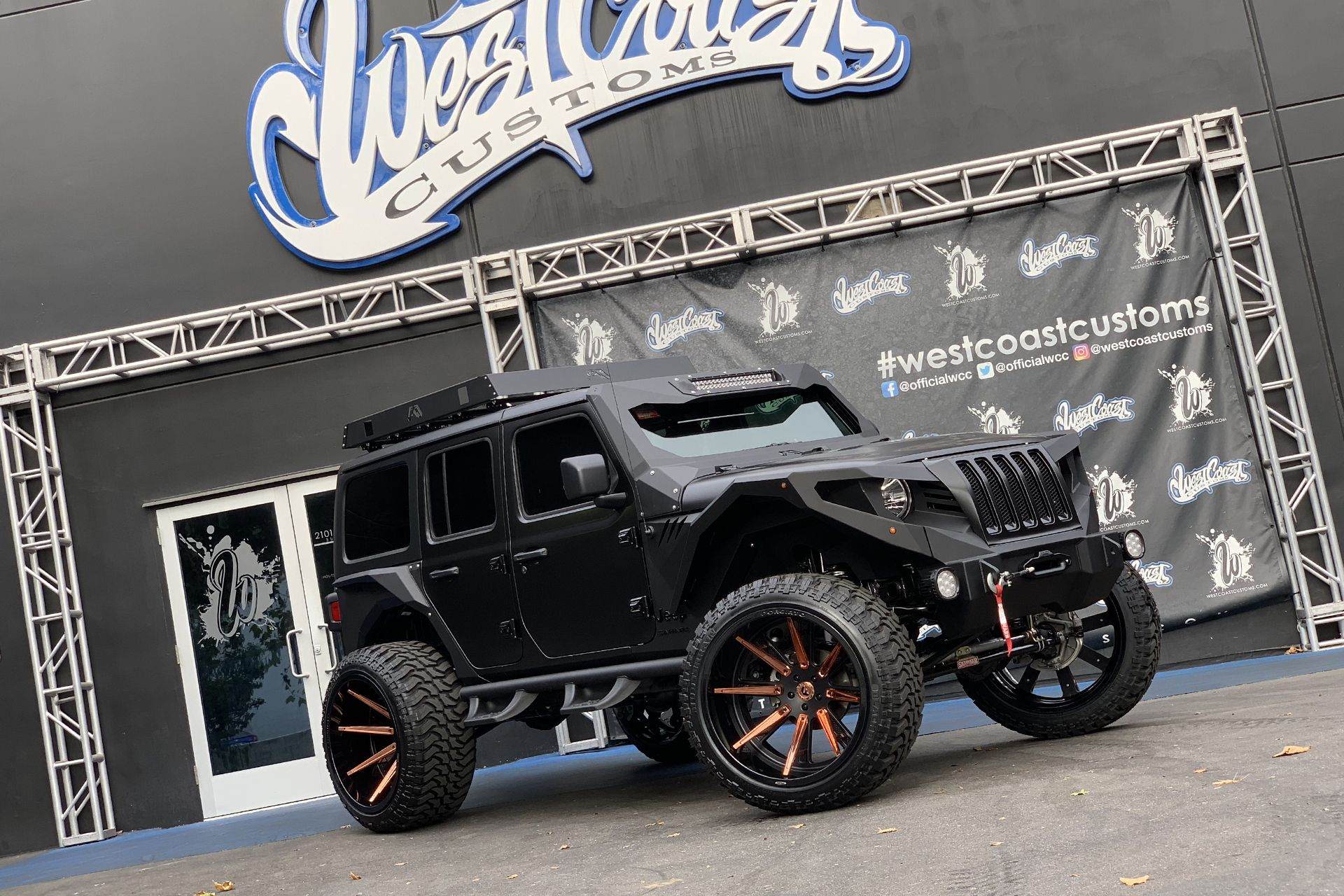 2018 Jeep Wrangler Sahara Customized By West Coast Customs Satin