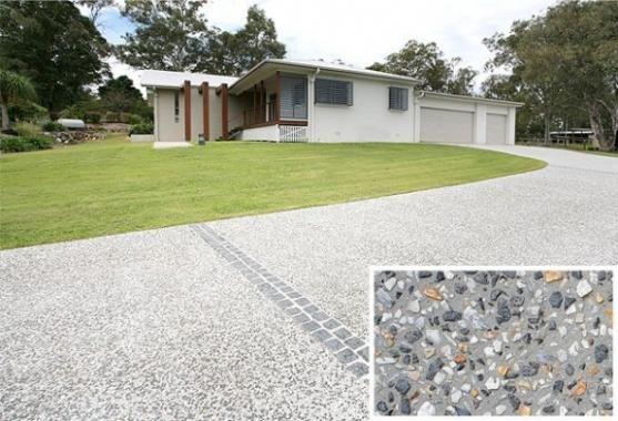 Driveway Designs By Cobbleprint Concrete Driveway Design Diy Driveway Driveway Ideas Cheap