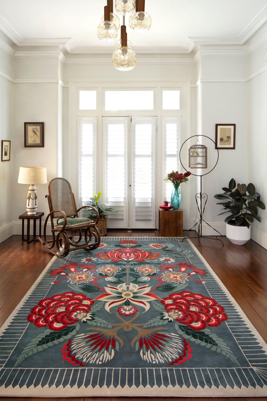 Waratah Wonderland By House Of Heras X Designer Rugs In 2020 Bedroom Decor Home Decor Bohemian Bedroom