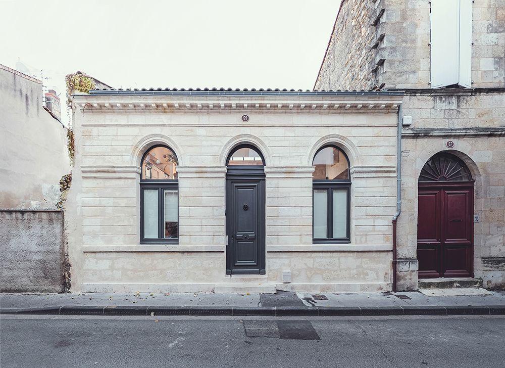 r habilitation d une choppe double rue poyenne bordeaux architecte aquitaine 33 fabre. Black Bedroom Furniture Sets. Home Design Ideas