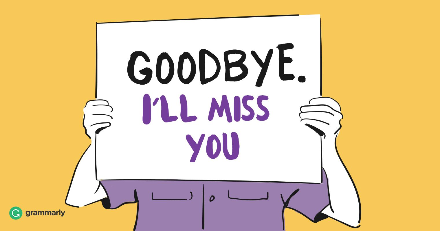 Here's How to Send the Perfect Farewell Message to