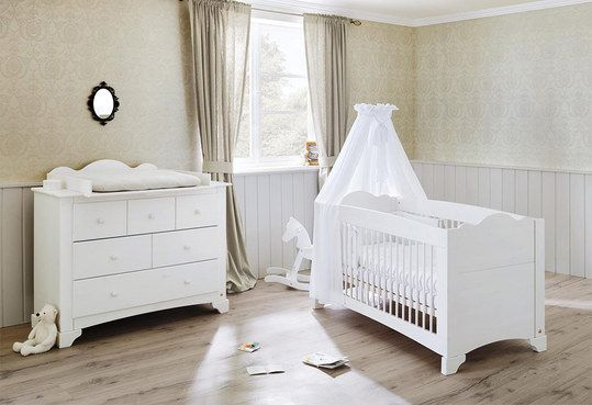 Pinolino Sparset Kinderzimmer Pino - Kiefer massiv - pinolino babyzimmer design