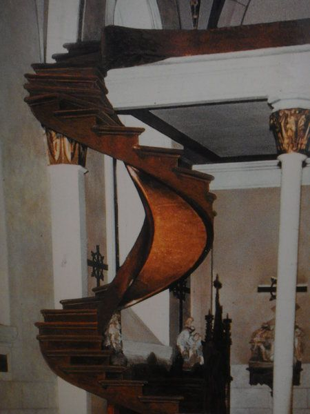 Best Except It S Actually Real The Miraculous Staircase 400 x 300