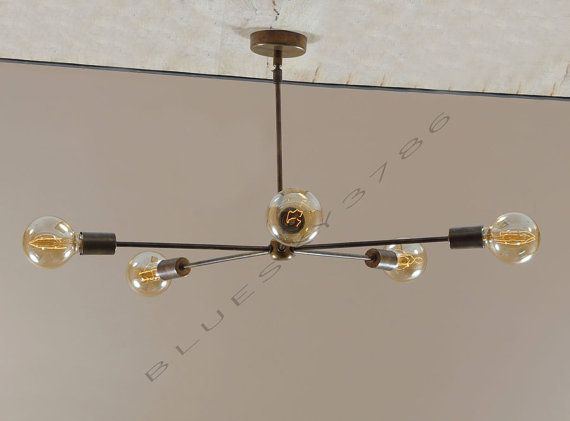 Item code beautiful vintage inspired 5 brass arms light patina antique brass chandelier for your living room dining room hall or