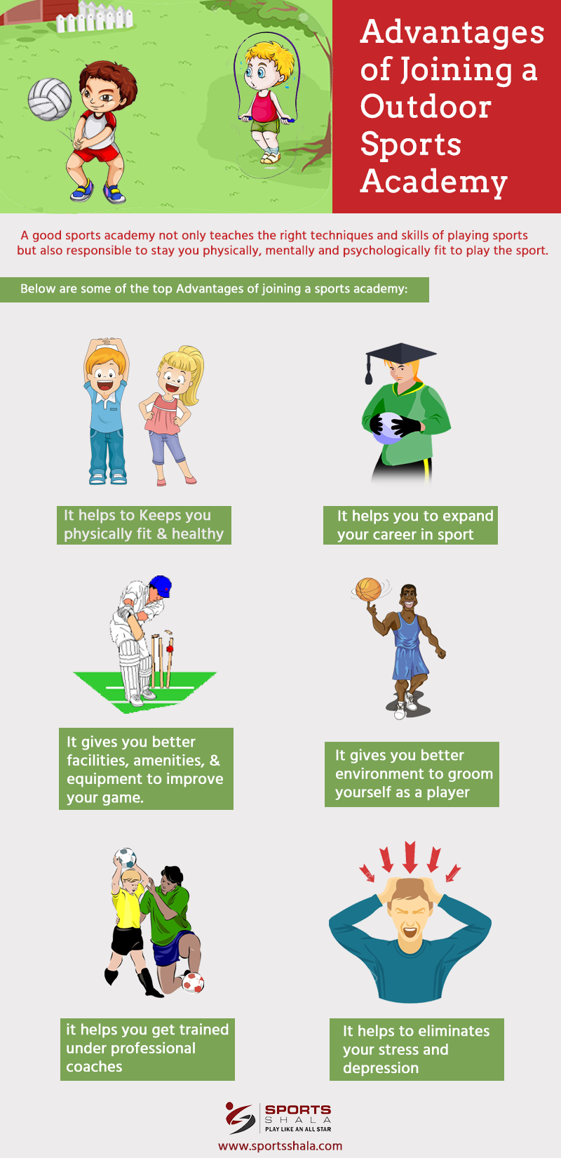 Advantages of Joining a Outdoor Sports Academy