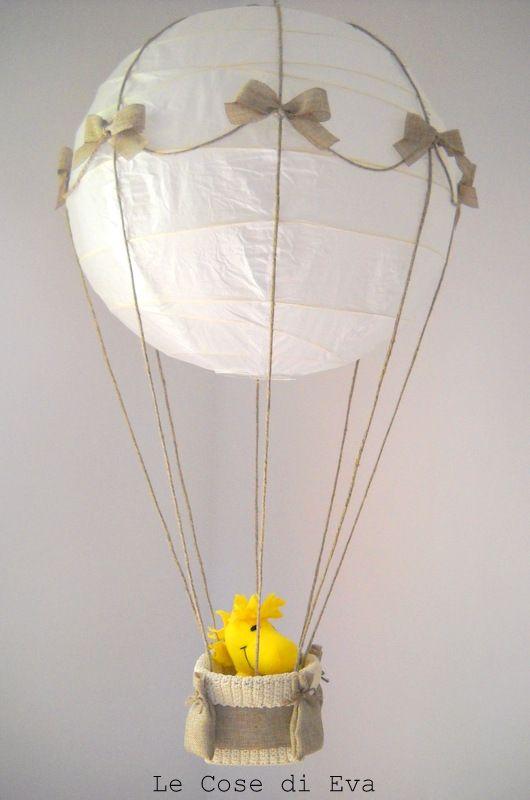 Lampadario mongolfiera le cose di eva for kids baby snoopy baby items e kids parenting - Ikea lampadario bambini ...