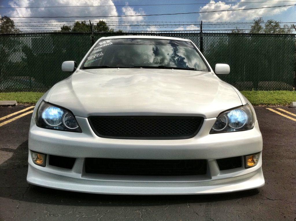 IS300 version select front bumper/angel eye halo headlights/ JDM ...