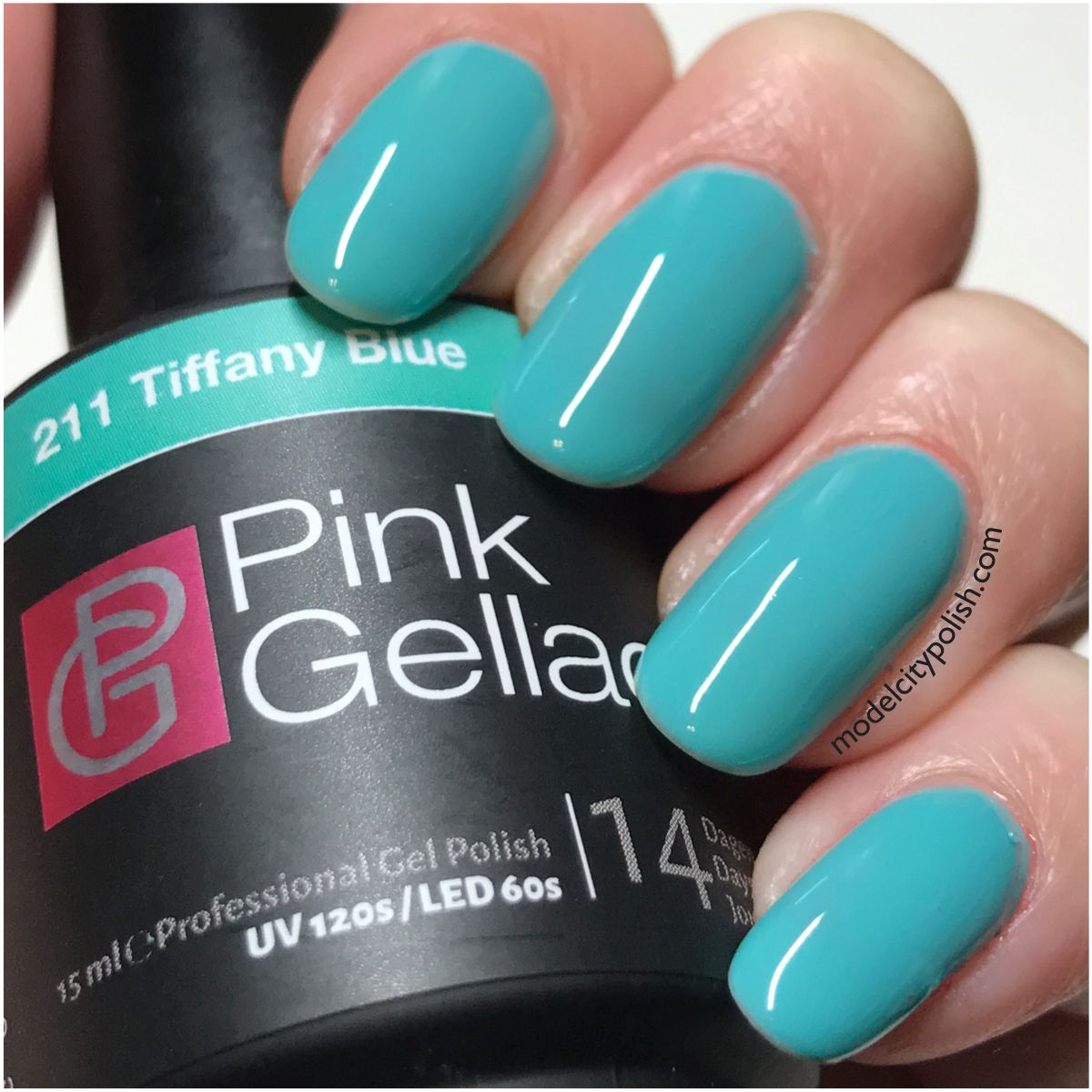 Tiffany Blue Gel Nail Polish: Tiffany Blue From Candy Couture By Pink Gellac