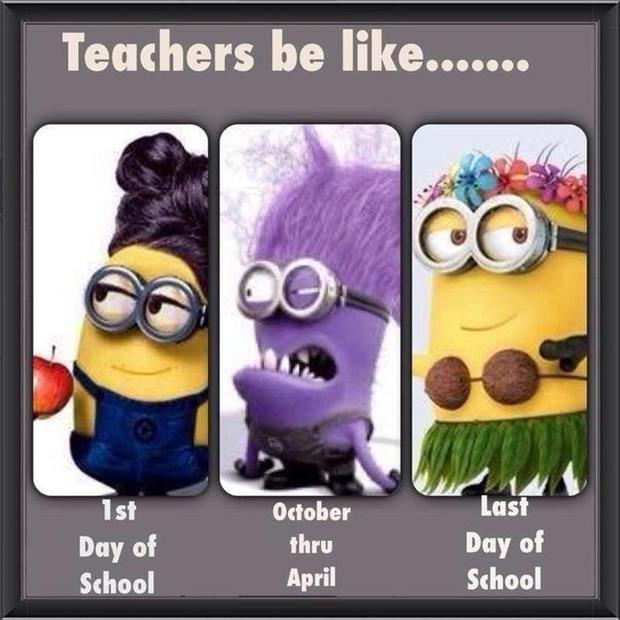 Teachers Are Like Minions Funny Funny Minion Quotes Teacher Humor