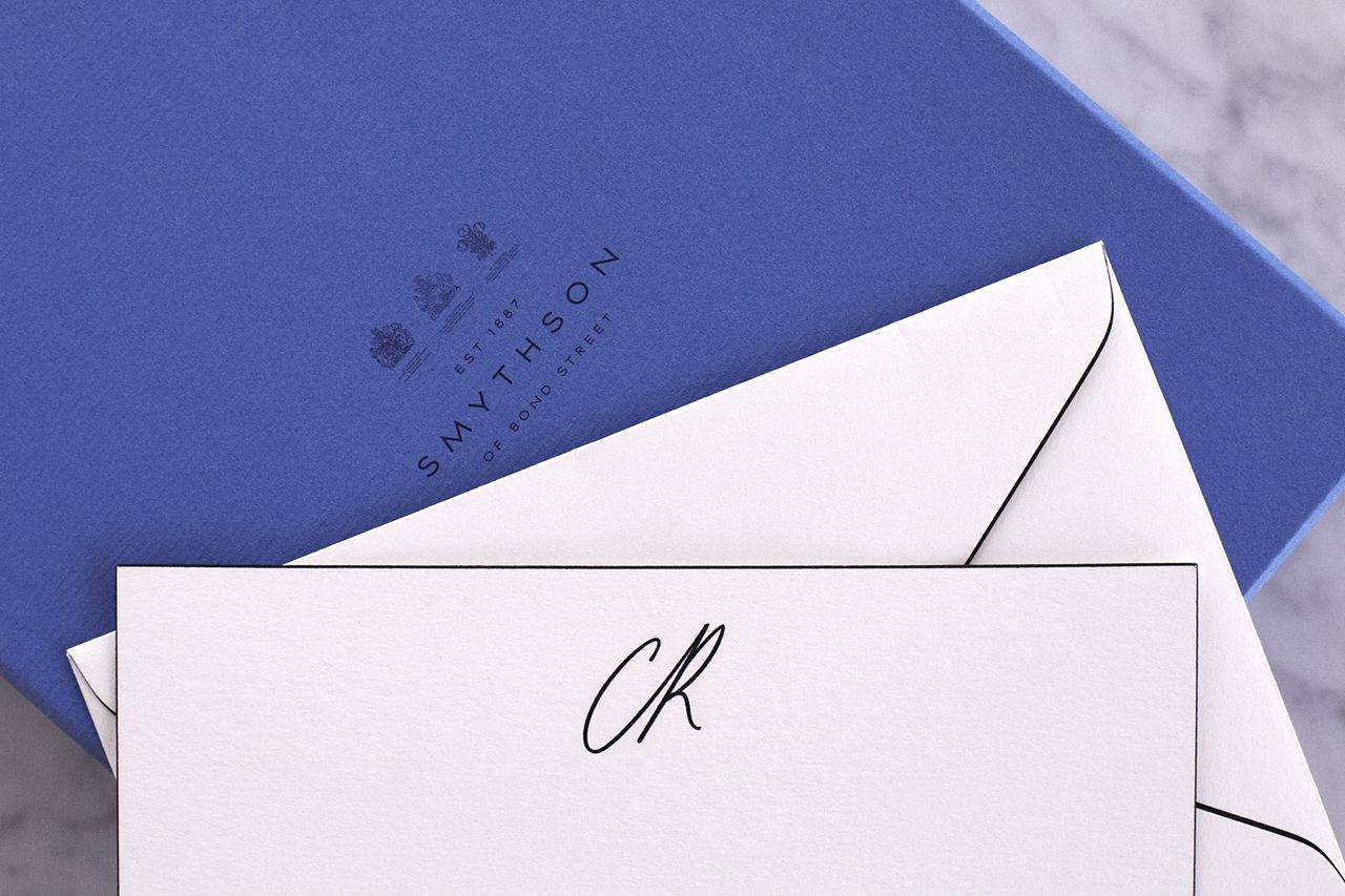 NOTED Because Personalized Stationery Makes A Statement Our Custom Smythson Letter Writing