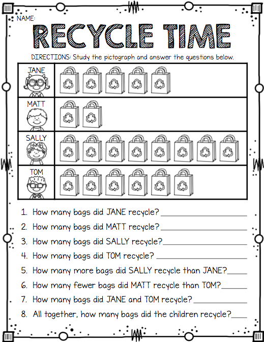 Earth Day Freebie Printable Earth Day Activities Homeschool Math Teaching Math