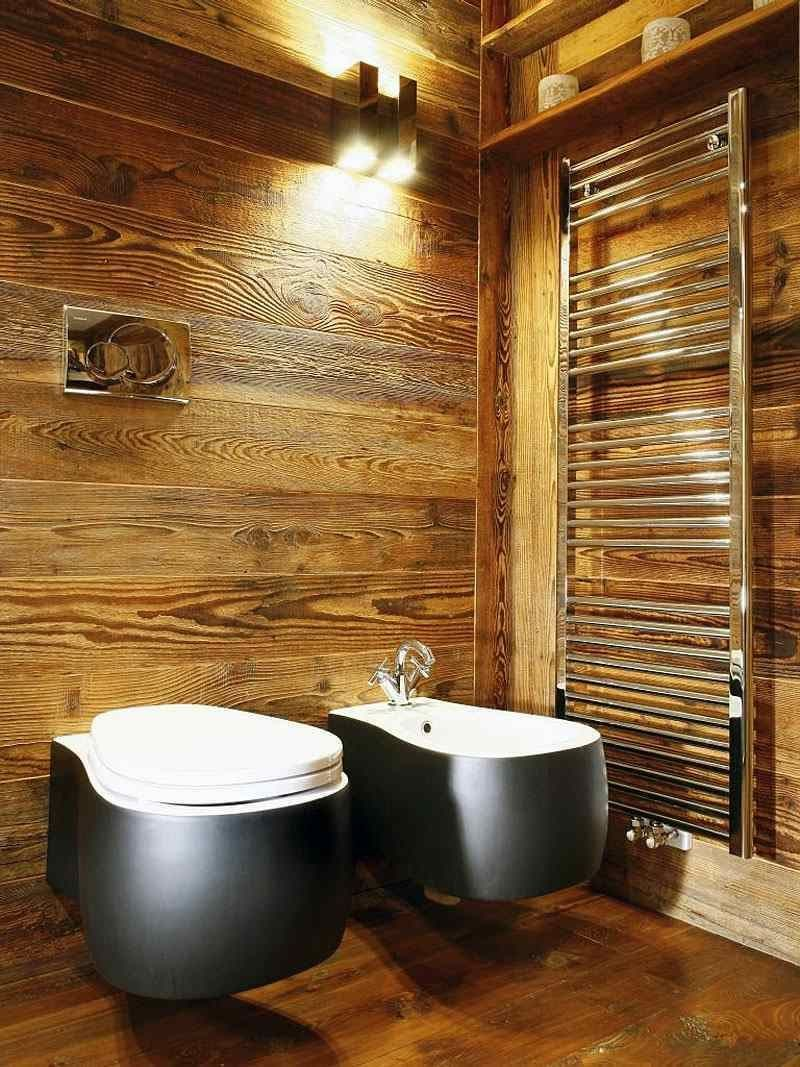 Bad Wandverkleidung Mit Holz Warum Denn Nicht Wandpaneele Com Bathroom Fliesen Naturstein Ker Rustic Bathrooms Rustic Bathroom Designs Bathroom Design