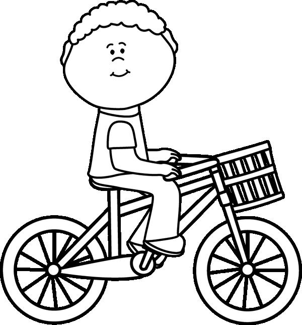 45+ Black And White Bike Clipart