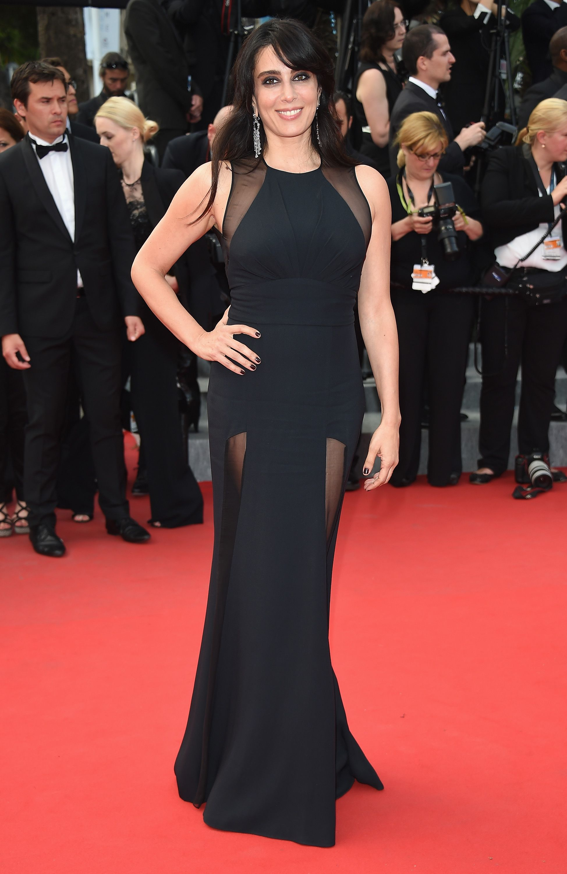 db174815e47 Nadine Labaki wears ELIE SAAB to the closing ceremony and 'La Glace Et Le  Ciel' Premiere during the 68th annual Cannes Film Festival.