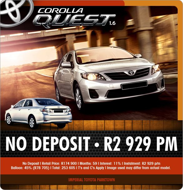 Carfind Specials Special Imperial Toyota