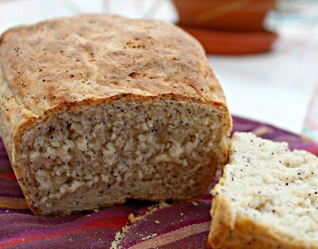 Sabor en cristal: Pan de molde con semillas de amapola
