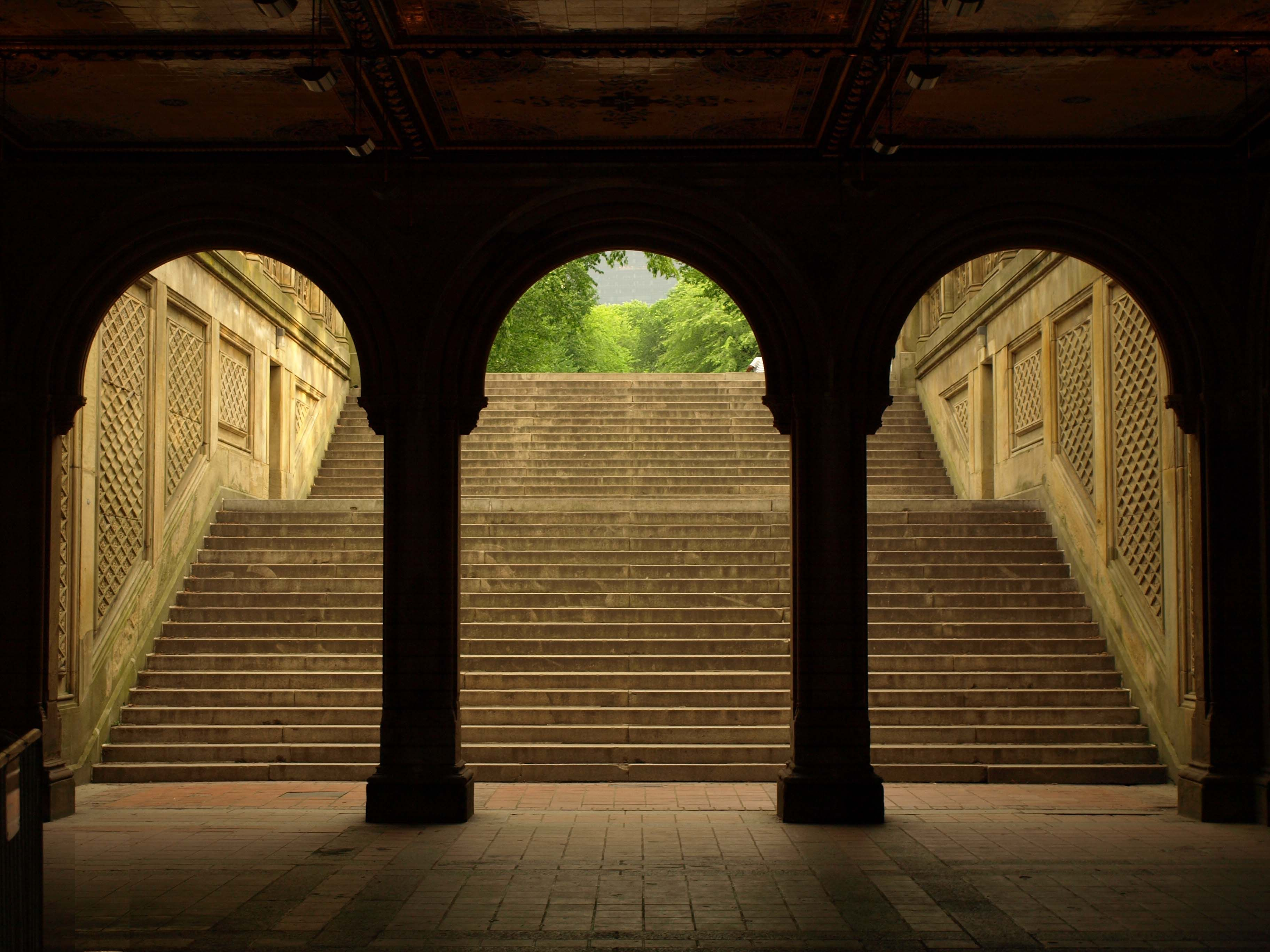 central park ny. bethesda terrace. | favorite places & spaces