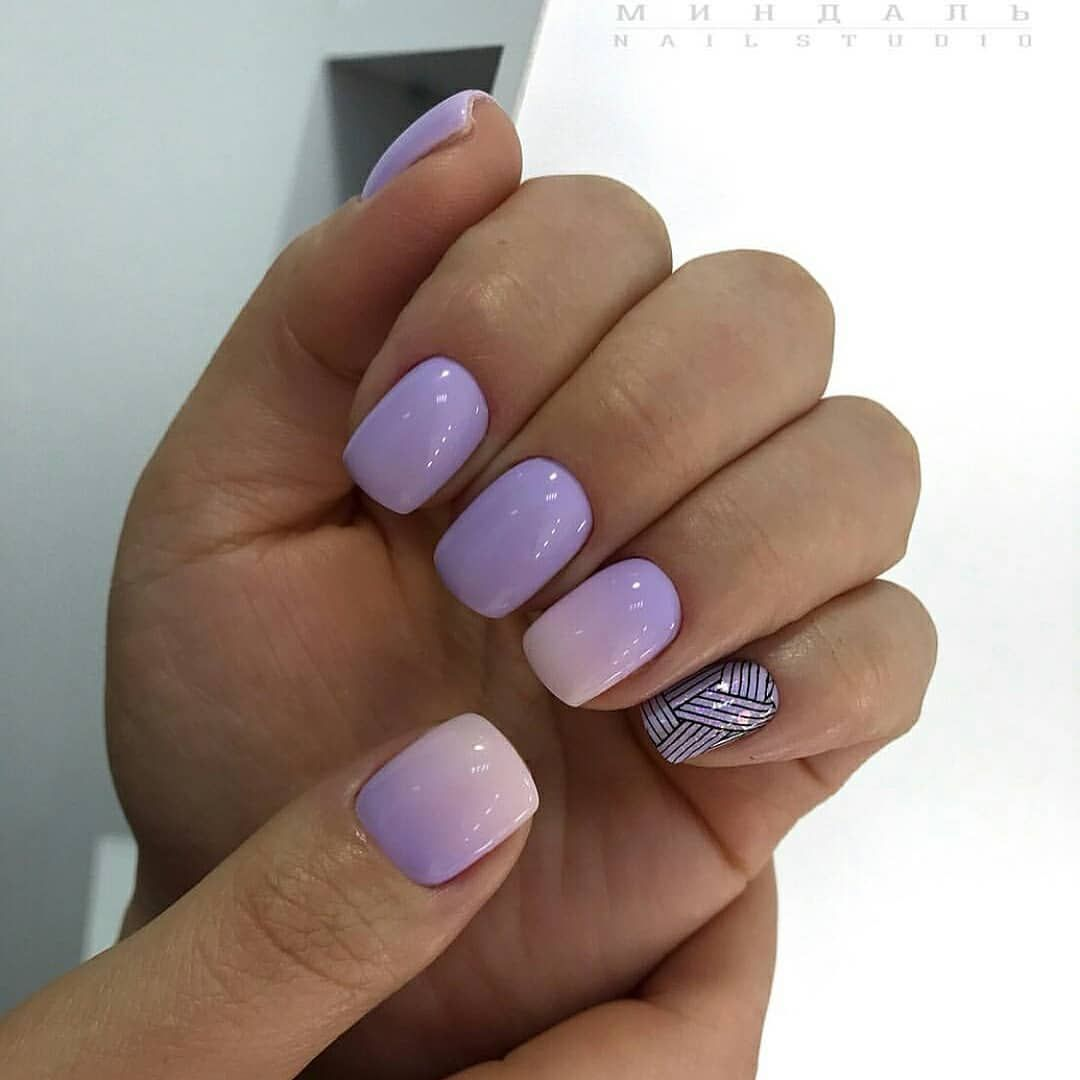 43 Trendy Light Purple Acrylic Nails Designs Purple Acrylic Nails Nail Designs Purple Nail Art