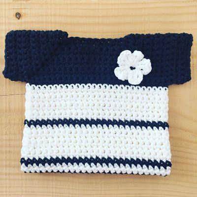 Annemarie\'s Haakblog: Crochet Baby Sweater - Free Pattern | The ...