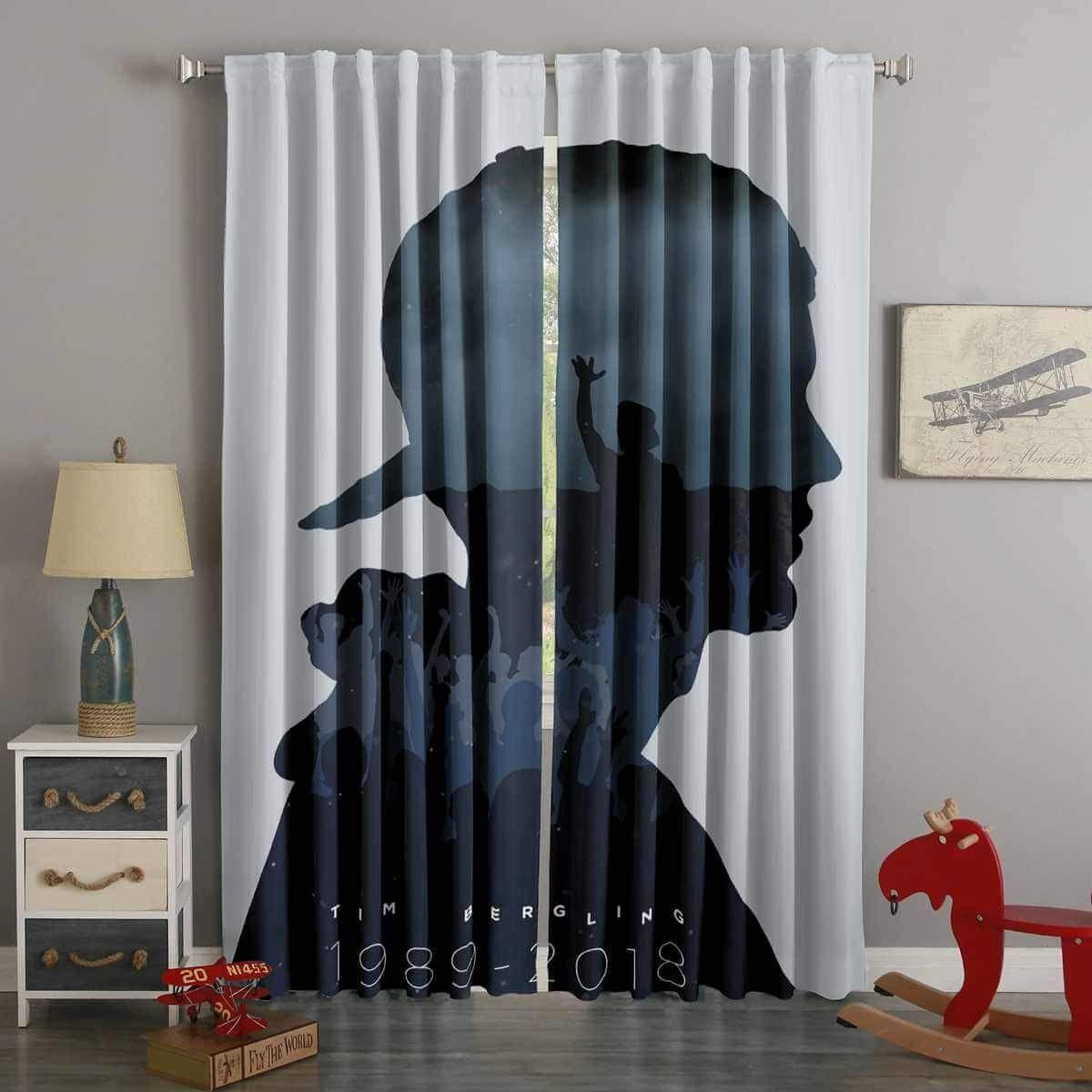 3d Printed Avicii Style Custom Living Room Curtains Westbedding Curtains Living Room Curtains Custom Curtains #printed #living #room #curtains