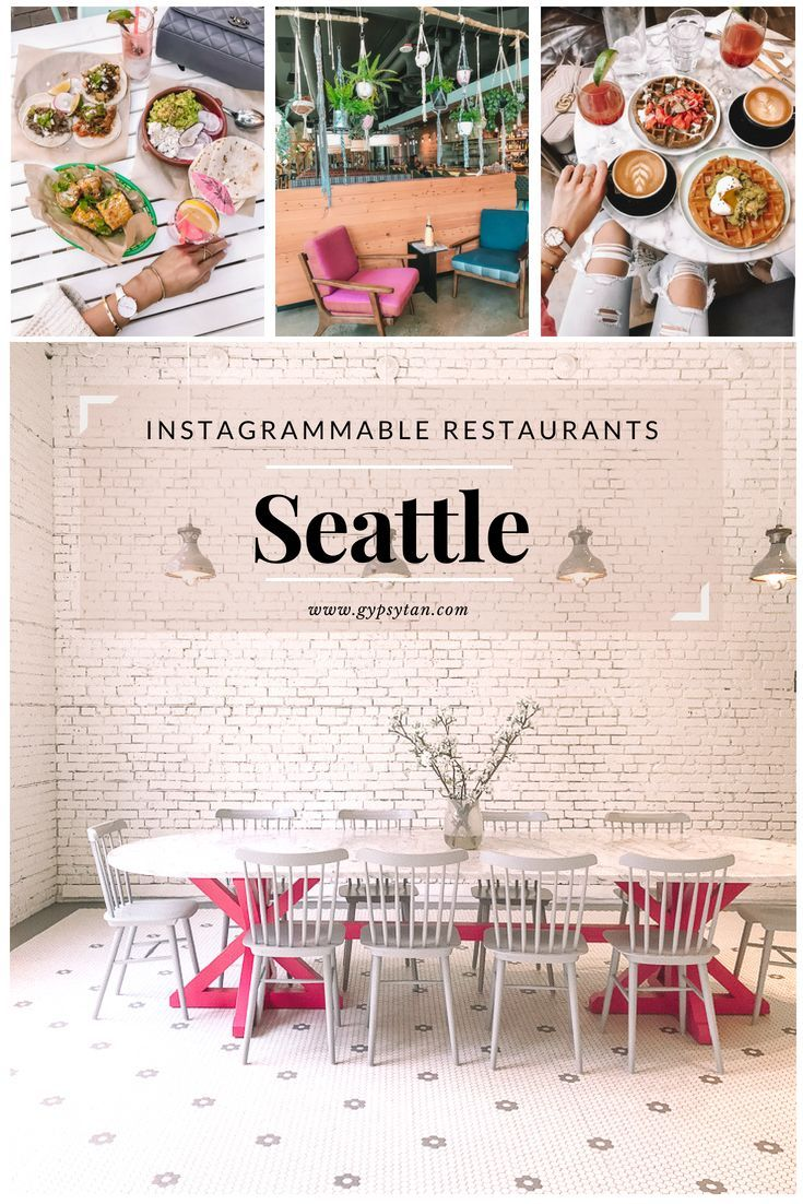 Things to Do in Seattle: Most Instagrammable places Seattle restaurants